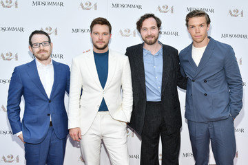 Will Poulter Premiere Of A24's 'Midsommar' - Red Carpet