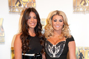 Cara Kilbey and Billi Mucklow attend the We Will Rock You 10 Year Anniversary Celebration performance at The Dominion Theatre on May 14, 2012 in London, England.