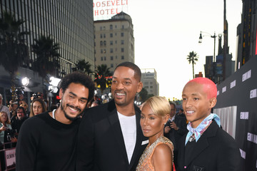 Will Smith Jada Pinkett Smith Paramount Pictures' Premiere Of 'Gemini Man' - Red Carpet