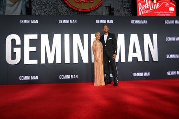 Will Smith Jada Pinkett Smith The Premiere Of Gemini Man Presented By Paramount Pictures, Skydance, And Jerry Bruckheimer Films