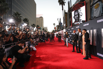 Will Smith Jaden Smith The Premiere Of Gemini Man Presented By Paramount Pictures, Skydance, And Jerry Bruckheimer Films