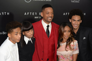 Will Smith Willow Smith 'After Earth' Premieres in NYC — Part 2