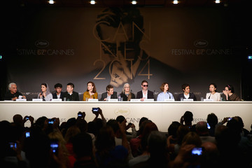 Willem Dafoe Jane Campion Jury Press Conference at Cannes