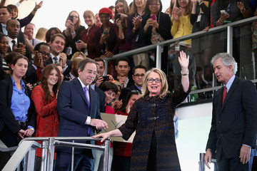 William Burns Hillary Clinton Delivers Farewell Address To State Department Employees