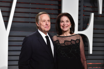 William Friedkin Sherry Lansing 2017 Vanity Fair Oscar Party Hosted By Graydon Carter - Arrivals