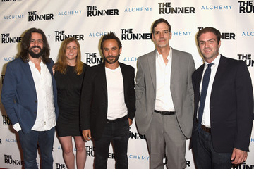 William Goldman Guests Arrive at the Paper Street Films' Screening of 'The Runner'