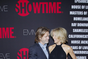 William H. Macy Arrivals at the Showtime Emmy Eve Soiree