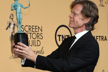 William H. Macy 21st Annual Screen Actors Guild Awards - Press Room