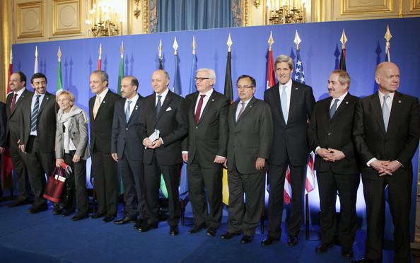 International Meeting Of The Friends Of Syria Core Group In Paris