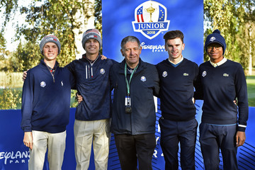 William Moll 2018 Junior Ryder Cup - Day One