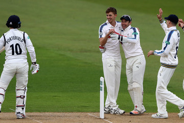 William Porterfield Warwickshire v Yorkshire - Specsavers County Championship: Division One
