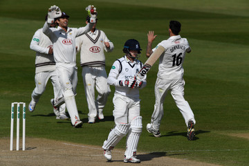William Porterfield Warwickshire v Surrey - Specsavers County Championship: Division One