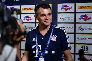 Willy Sagnol ICC Singapore - Bayern v FC Internazionale