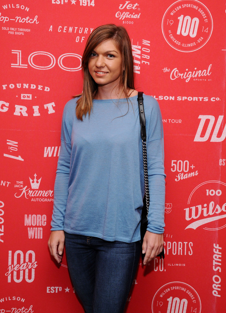 Simona Halep - Page 3 Wilson+100+Year+Anniversary+Cocktail+Party+icoFSNo4Mw2x