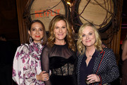 "Maya Rudolph, Ana Gasteyer and director Amy Poehler attend the ""Wine Country"" World Premiere After Party at The Oak Room on May 08, 2019 in New York City."