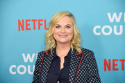 "Amy Poehler attends the ""Wine Country"" World Premiere at Paris Theatre on May 08, 2019 in New York City."