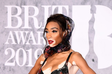 Winnie Harlow The BRIT Awards 2019 - Red Carpet Arrivals