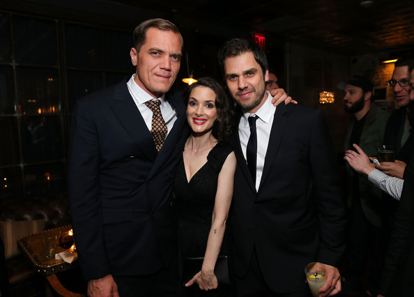 'The Iceman' After Party in NYC [event,suit,formal wear,fashion,fun,tuxedo,little black dress,dress,smile,photography,grey goose vodka,the iceman,ariel vromen,actors,coverage,new york,millennium entertainment host a special new york,party,party,screening]