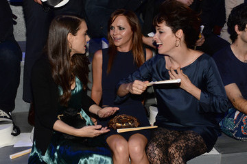 Winona Ryder Christina Ricci MBFW: Front Row at Marc Jacobs