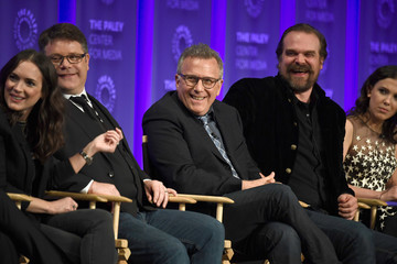 Winona Ryder David Harbour The Paley Center For Media's 35th Annual PaleyFest Los Angeles - 'Stranger Things' - Inside