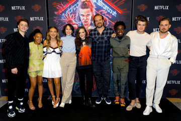Winona Ryder David Harbour Photocall For Netflix's 'Stranger Things' Season 3