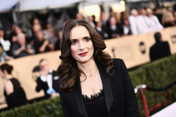Winona Ryder 24th Annual Screen Actors Guild Awards - Red Carpet