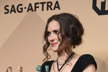 Winona Ryder 23rd Annual Screen Actors Guild Awards - Press Room