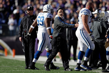 Winston Justice Wild Card Playoffs - Indianapolis Colts v Baltimore Ravens