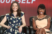 Emmy Rossum and Shanola Hampton Photos Photo