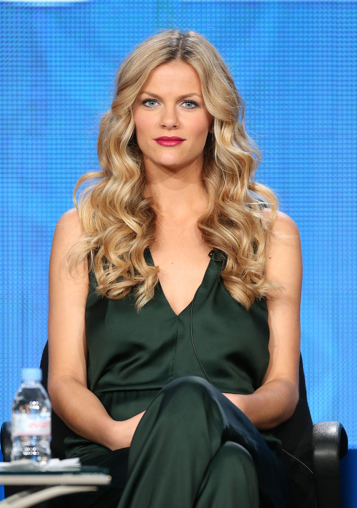 Actress Brooklyn Decker of the television show ÔFriends With Better LivesÕ speaks onstage during the CBS portion of the 2014 Winter TCA tour at the Langham Hotel on January 15, 2014 in Pasadena, California.