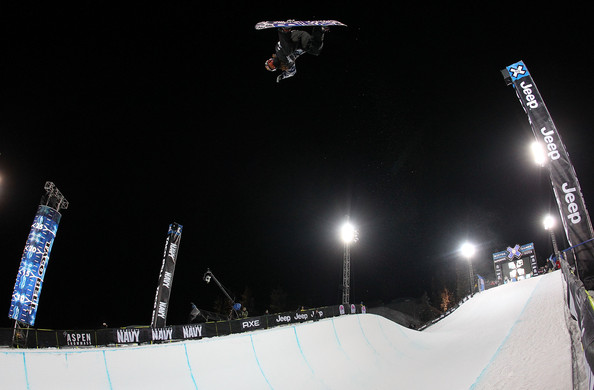 Shaun White catches big air during XGames 14