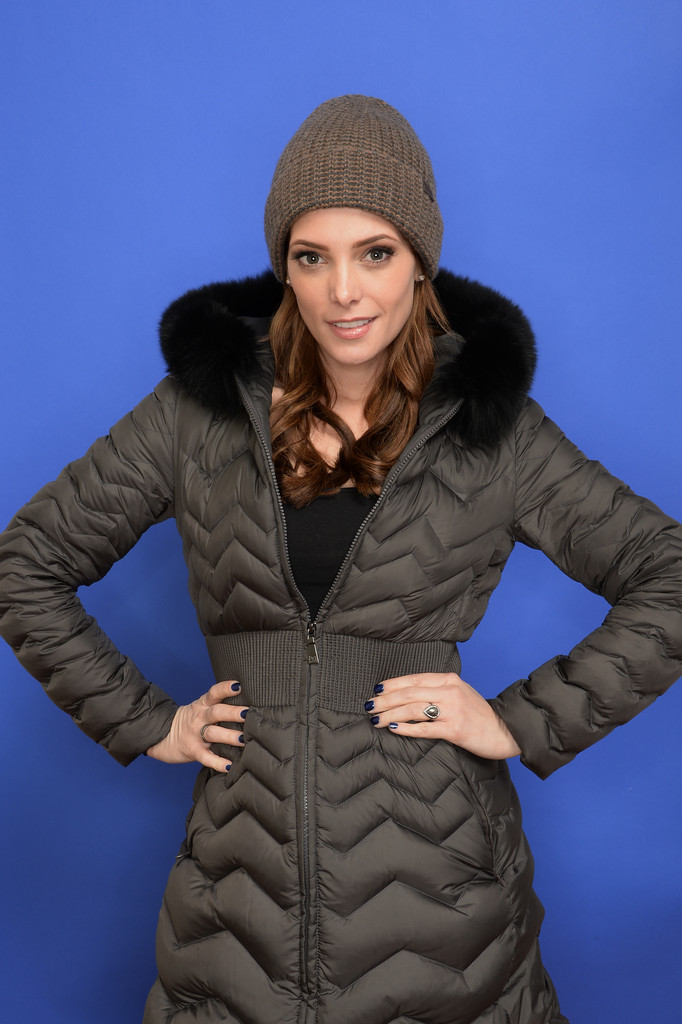 Actress Ashley Greene poses for a portrait during the 2014 Sundance Film Festival at the Getty Images Portrait Studio at the Village At The Lift on January 18, 2014 in Park City, Utah.