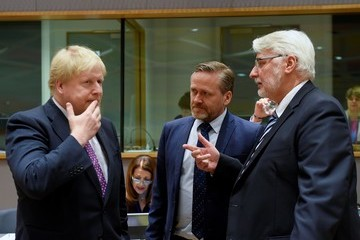 Witold Waszczykowski EU Foreign Ministers Meeting Focusing on Libya and Migrant Flow