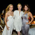 """Michele Promaulayko Photos - (L-R) Laura Frerer-Schmidt, Kelly Rutherford and Michele Promaulayko attend Women's Health Hamptons """"Party Under the Stars"""" for RUN10 FEED10 at Bridgehampton Tennis and Surf Club on August 3, 2013 in Bridgehampton, New York. - Women's Health Hamptons """"Party Under The Stars"""" For RUN10 FEED10"""