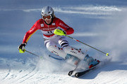 Susanne Riesch of Germany skis her first run enroute to a fourth place finish in the Women's FIS Alpine World Cup Slalom on November 29, 2009 in Aspen, Colorado.