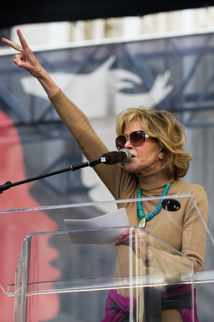 Jane Fonda Photos Photos - Women's March Los Angeles - Zimbio