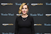 "Kate Winslet attends the ""Wonder Wheel"" screening at Museum of Modern Art on November 14, 2017 in New York City."