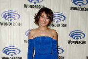 Karen Fukuhara attends the 'She-Ra and the Princesses of Power' press line during WonderCon 2019 at Anaheim Convention Center on March 30, 2019 in Anaheim, California.