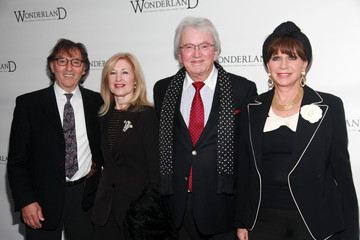 """Leslie Bricusse Evie Bricusse """"Wonderland - Alice Through A Whole New Looking Glass"""" Broadway Opening Night - Arrivals & Curtain Call"""