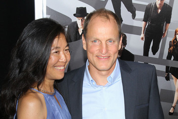 Woody Harrelson Laura Louie 'Now You See Me' Premieres in NYC