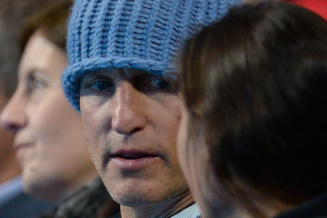 Woody Harrelson Day Eight - Barclays ATP World Tour Finals