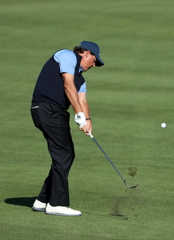 phil mickelson photos photos world golf championships dell match play round four zimbio. Black Bedroom Furniture Sets. Home Design Ideas