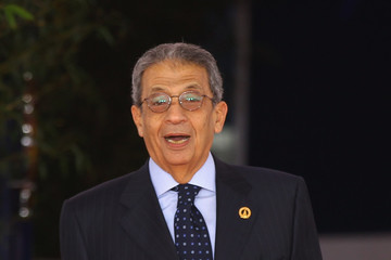 Amr Moussa World Leaders Attend G8 Summit 2011 in Deauville - Day 2