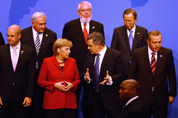 General Ban Ki-moon World Leaders Gather For G20 Summit In Pittsburgh