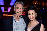Harrison Ford and Cara Gee Photos Photo