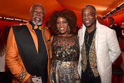"""(L-R) John Kani, Alfre Woodard and LeVar Burton attend the World Premiere of Disney's """"THE LION KING"""" at the Dolby Theatre on July 09, 2019 in Hollywood, California."""