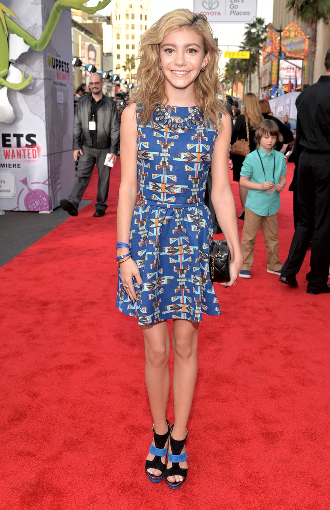 Muppets Most Wanted   G Hannelius Age 2014