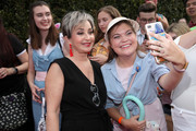 Annie Potts (L) attends the world premiere of Disney and Pixar's TOY STORY 4 at the El Capitan Theatre in Hollywood, CA on Tuesday, June 11, 2019.