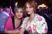 (L-R) Annie Potts and Christina Hendricks attend the world premiere of Disney and Pixar's TOY STORY 4 at the El Capitan Theatre in Hollywood, CA on Tuesday, June 11, 2019.