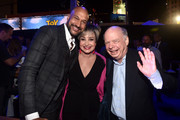 (L-R) Keegan-Michael Key, Annie Potts, and Wallace Shawn attend the world premiere of Disney and Pixar's TOY STORY 4 at the El Capitan Theatre in Hollywood, CA on Tuesday, June 11, 2019.